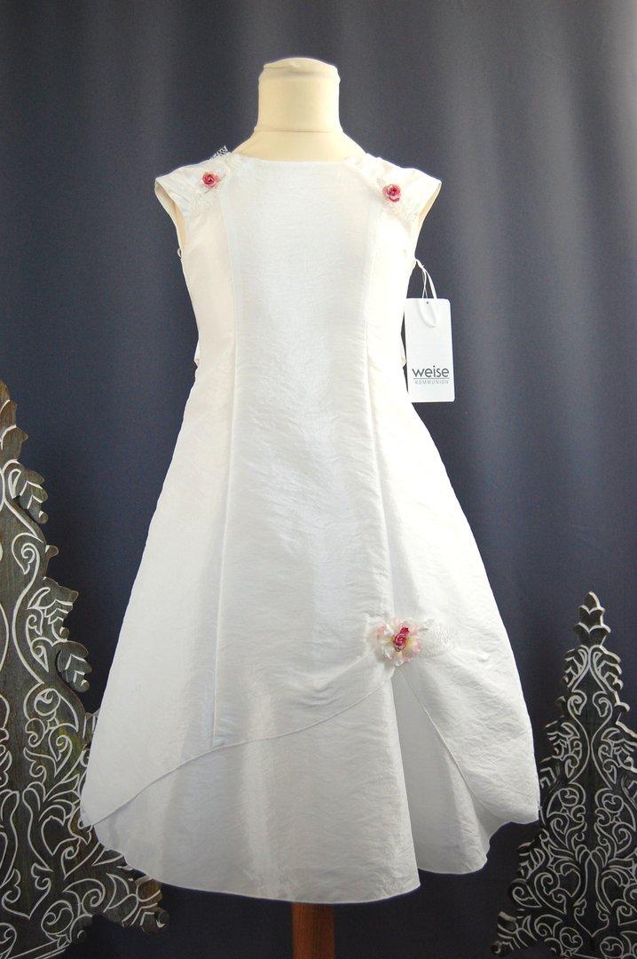 new styles a6d2c 17fe1 Weise Ivoryfarbenes Kleid mit variablen Blüten
